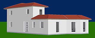 atrium 112 16 mit erker und turm einfamilienhaus neubau massivbau stein auf stein. Black Bedroom Furniture Sets. Home Design Ideas