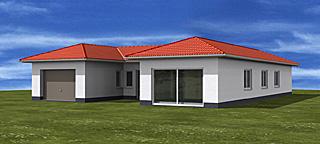 atrium a winkelbungalow 178 27 20 einfamilienhaus neubau massivbau stein auf stein. Black Bedroom Furniture Sets. Home Design Ideas