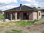 Bungalow mit Erker 118 qm Wohnfläche Abbildung Rohbau