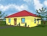 Bungalow mit 74 m² Wohnfläche