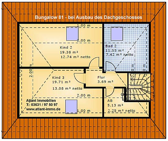 Bungalow 81 Einfamilienhaus Neubau Massivbau Stein Auf Stein