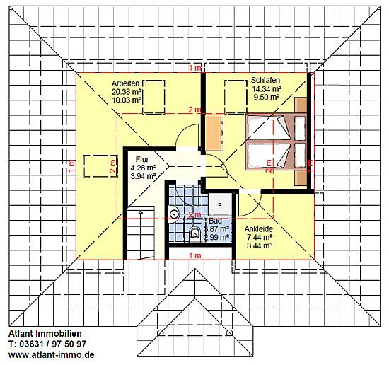 bungalow 80 30 mit ausgebautem dachgeschoss einfamilienhaus neubau massivbau stein auf stein. Black Bedroom Furniture Sets. Home Design Ideas