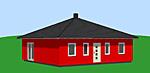 Bungalow 83 m² mit Zeltdach Bild 2