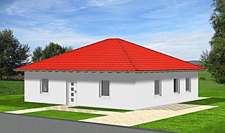 Einfamilienhaus als Bungalow 90 qm mit 4 Zimmern