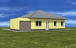 Bungalow 90 m² Wohnfläche vier Zimmer plus Garage