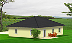 Bungalow Einfamilienhaus mit 99 qm Wohnflaeche Bild 2