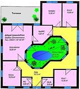 Atrium 4 projekt bungalow einfamilienhaus neubau massivbau for Atriumhaus bauen