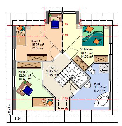 Hauspläne einfamilienhaus neubau  Massivhaus - Neubau - EINFAMILIENHÄUSER AB 100 QM WOHNFLÄCHE