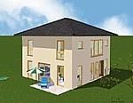 """Einfamilienhaus """"Family 115 zweigeschossig Exklusive Walm"""""""