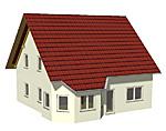 Einfamilienhaus mit Erker 150 m² Wohnfläche