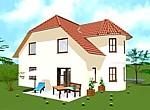 Einfamilienhaus mit Turmerker 132 m²