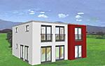 Zweigeschossige Villa 144 m²