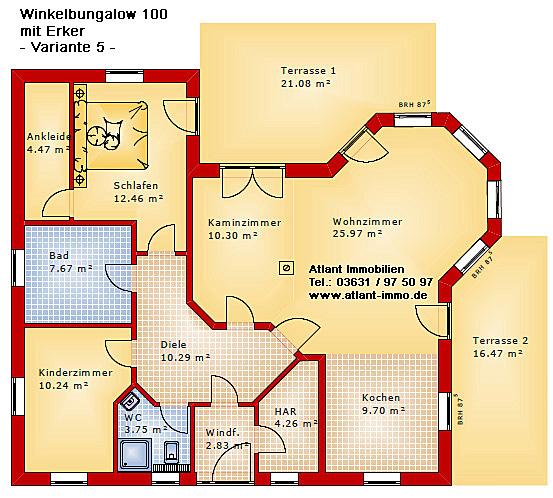 Winkelbungalow ~ Beste Home Design Inspiration