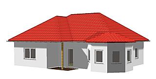 Winkelbungalow 100 mit Ausbau Dachgeschoss und Erker ...