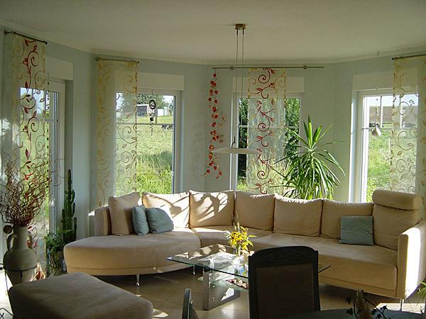 Winkelbungalow 100 mit Innenansicht Erker Einfamilienhaus ...