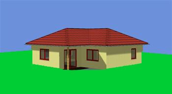 Winkelbungaalow 75 m² Wohnfläche