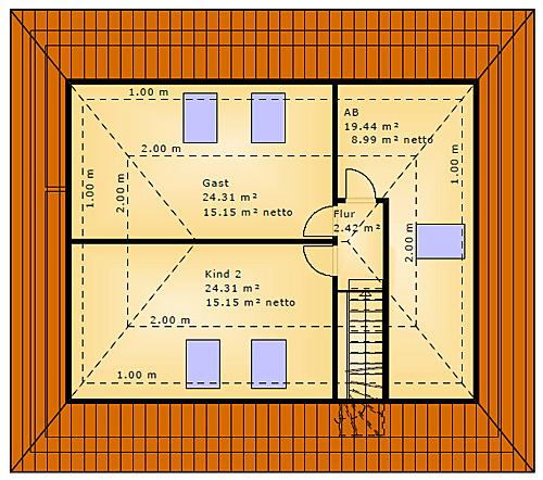 Winkelbungalow 91 Ausbau Dachgeschoss Wink Einfamilienhaus Neubau
