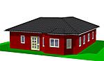 Winkelbungalow 103 m² Wohnfläche