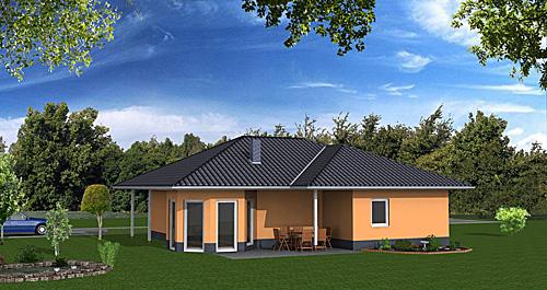 Winkelbungalow mit Erker 104 qm Wohnfläche
