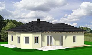 Winkelbungalow 106 6 mit Erker und Doppelgarage Einfamilienhaus ...