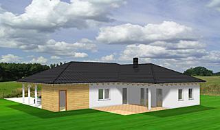 winkelbungalow 113 10 24 einfamilienhaus neubau massivbau sein auf stein. Black Bedroom Furniture Sets. Home Design Ideas