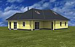 Winkelbungalow 117 / 53 mit Erker und ausgebautem oder ausbaufähigem Dachgeschoss