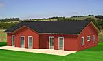 Winkelbungalow 126 mit zwei Giebels 126 qm Wohnfläche