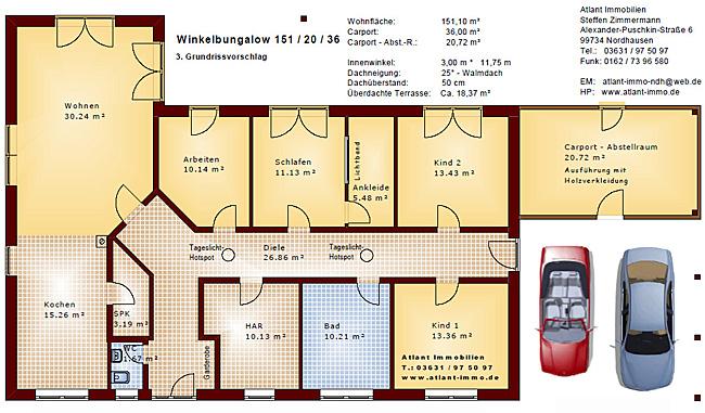 winkelbungalow 151 20 36 na einfamilienhaus neubau massivbau stein auf stein. Black Bedroom Furniture Sets. Home Design Ideas