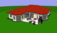 Winkelbungalow 167 mit zwei Erkern 167 qm Wohnfläche