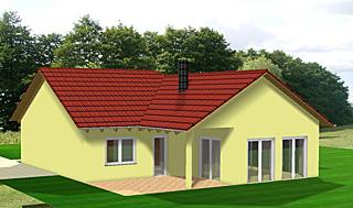 winkelbungalow eckhaus 101 13 einfamilienhaus neubau massivbau stein auf stein. Black Bedroom Furniture Sets. Home Design Ideas