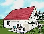 einfamilienh user ab 64 qm wohnfl che massivhaus neubau. Black Bedroom Furniture Sets. Home Design Ideas