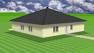 Bungalow mit Teltdach 161 m² Wohnfläche
