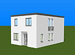Zweigeschossiges Einfamilienhaus 102 m²