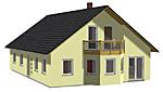 Einfamilienhaus Family 181 m² Wohnfläche plus Balkon
